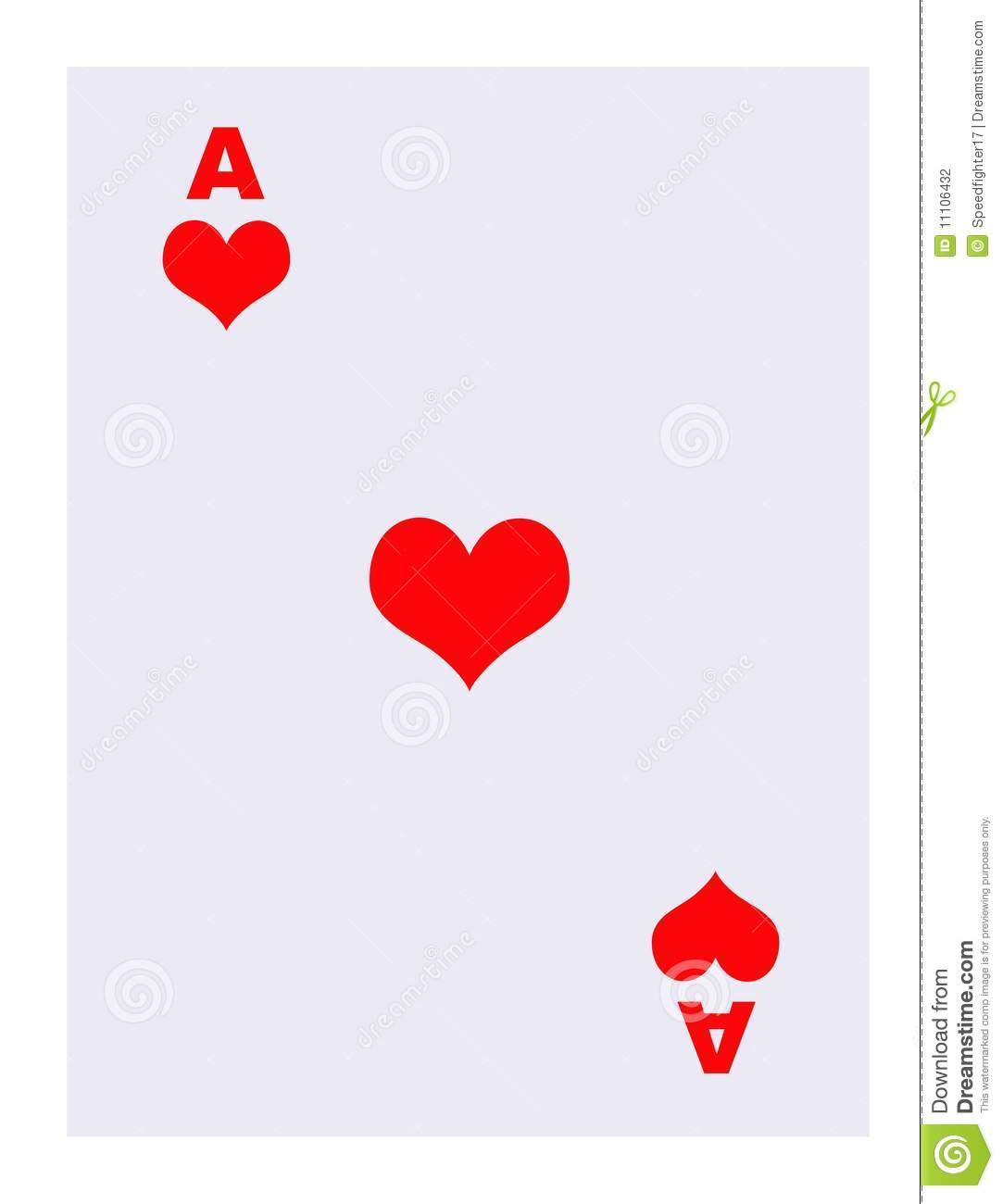 Ace Of Hearts Playing ...