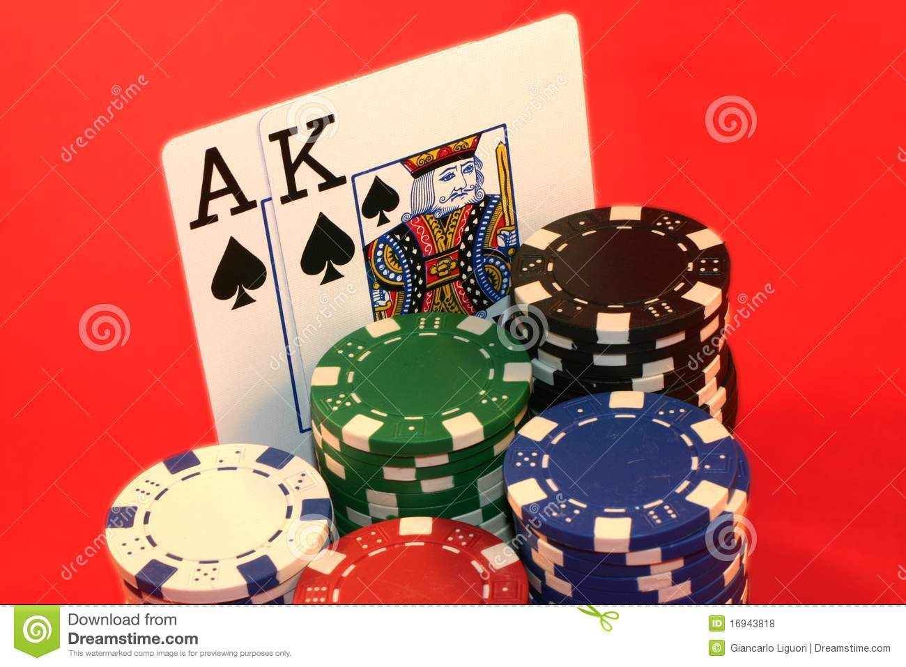 king and ace in poker