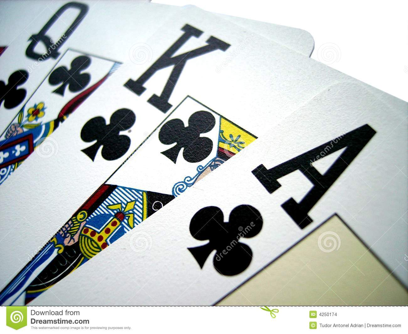 king and aces cards