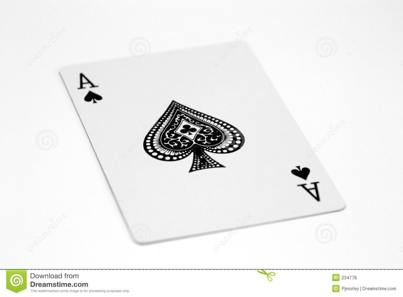 What is the probability of drawing four aces in a row from