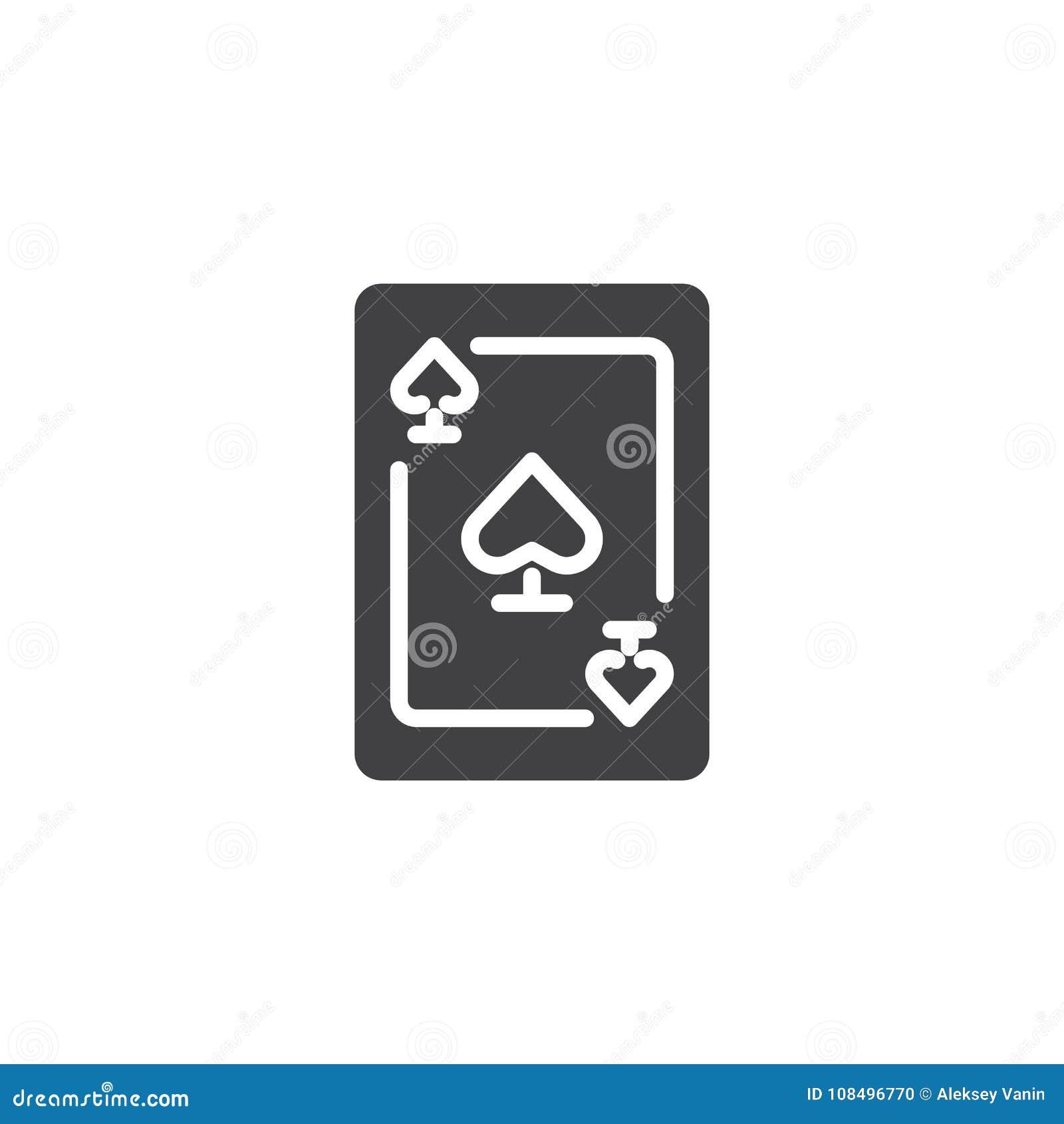Ace of spades icon vector stock vector illustration of luck 108496770 ace of spades icon vector biocorpaavc Choice Image