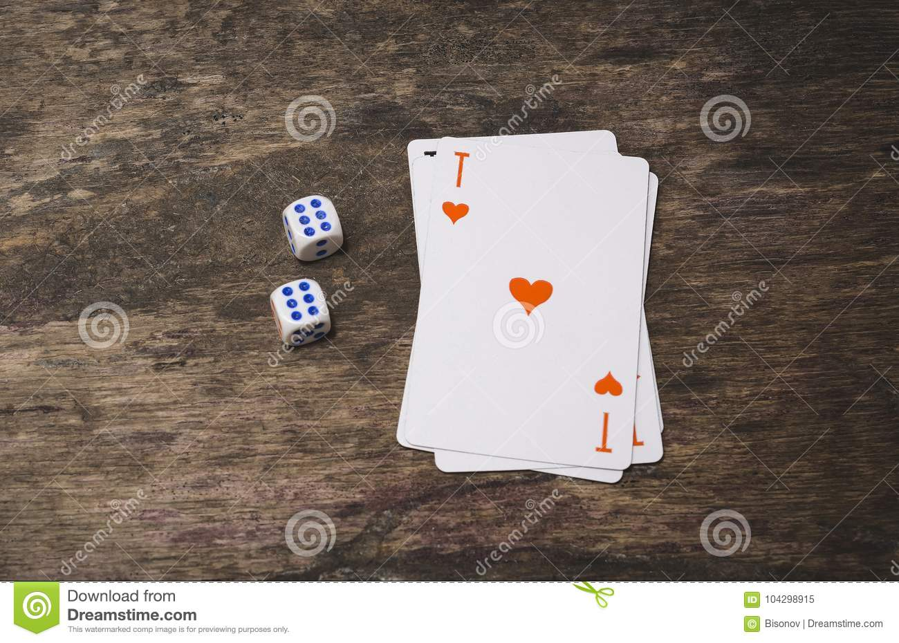 Ace Of Spades Playing Card Top View Stock Image Play Risk