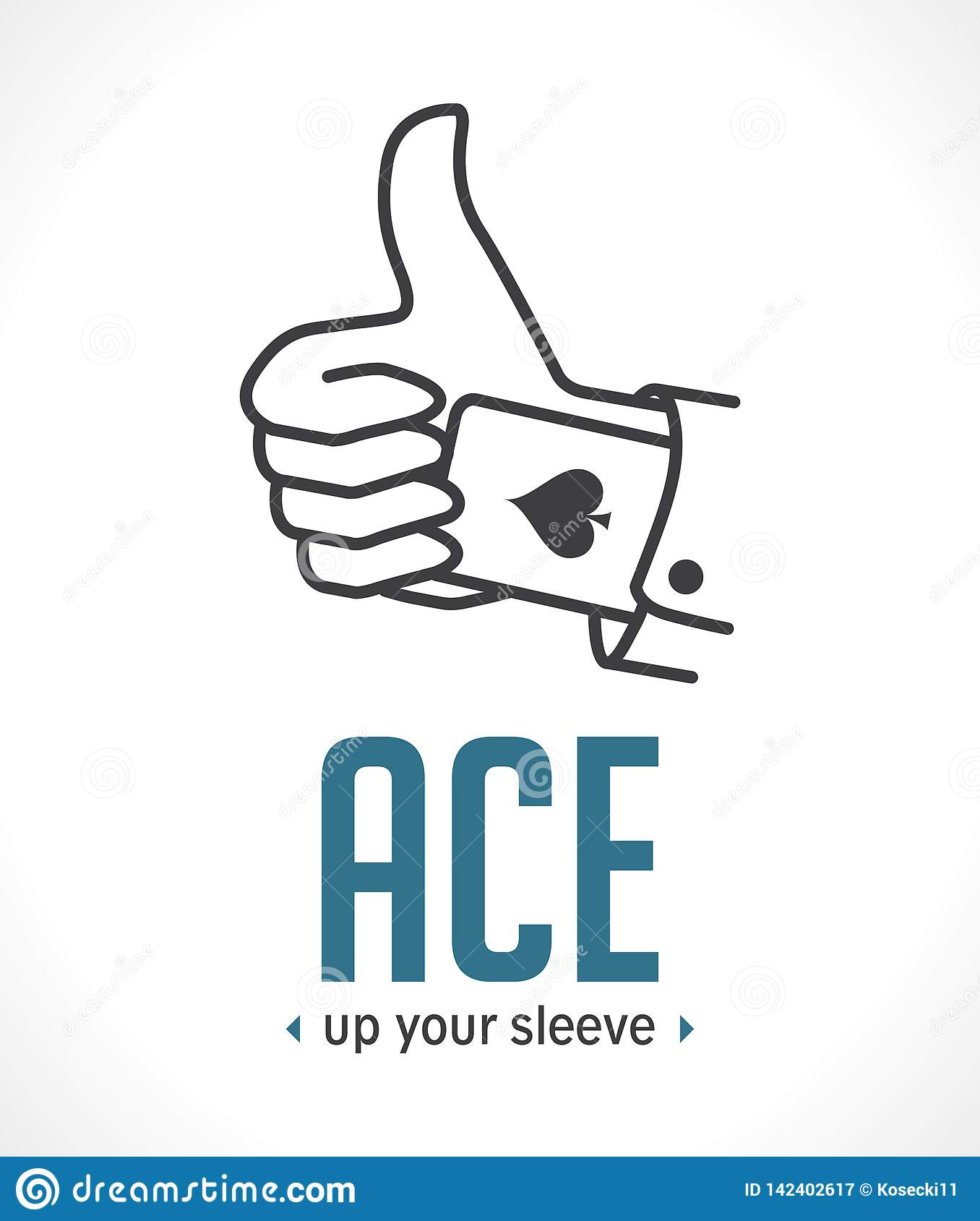 Ace vers le haut de votre douille - l argument décisif le plus important