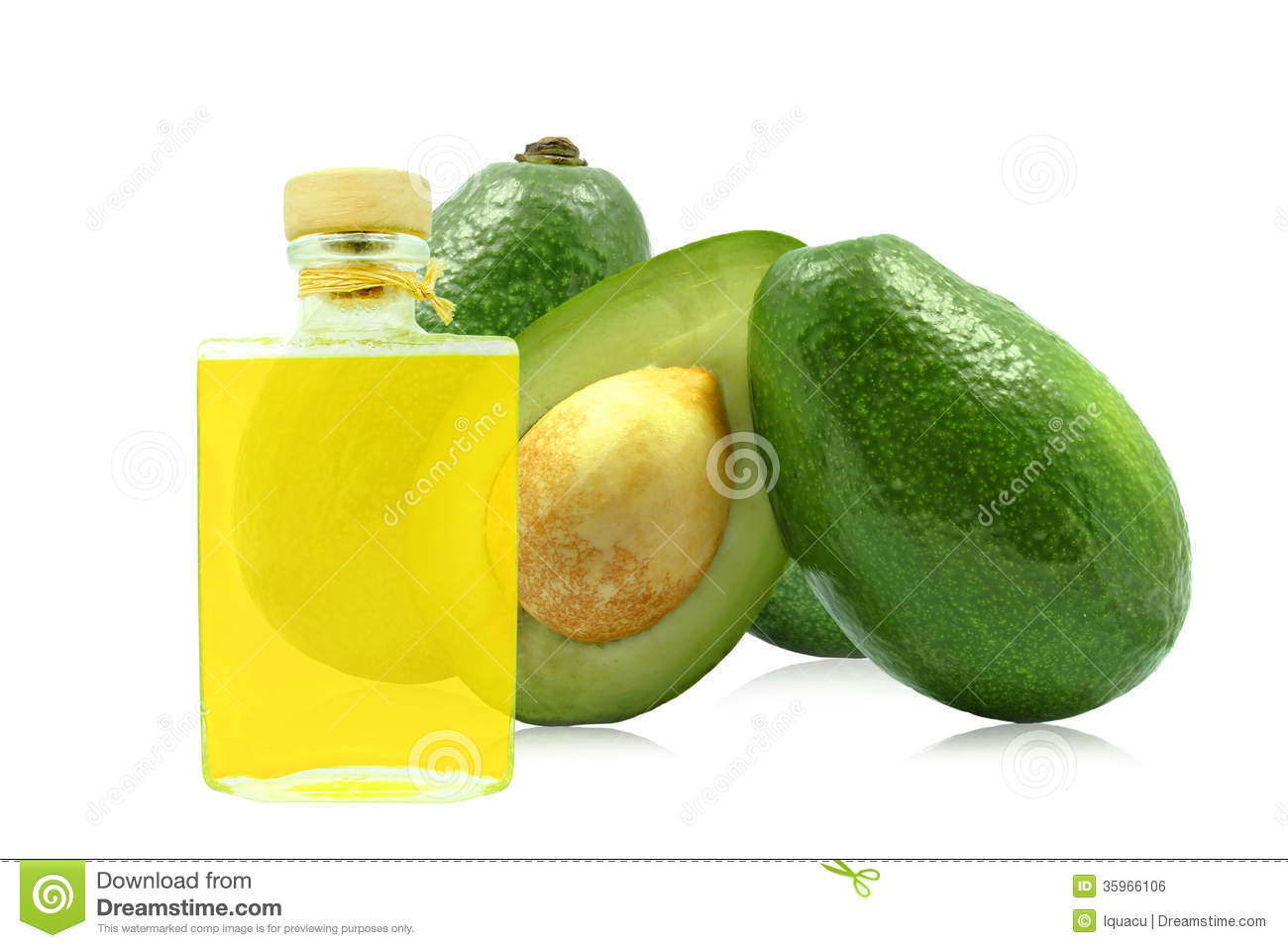 Aceite del aguacate