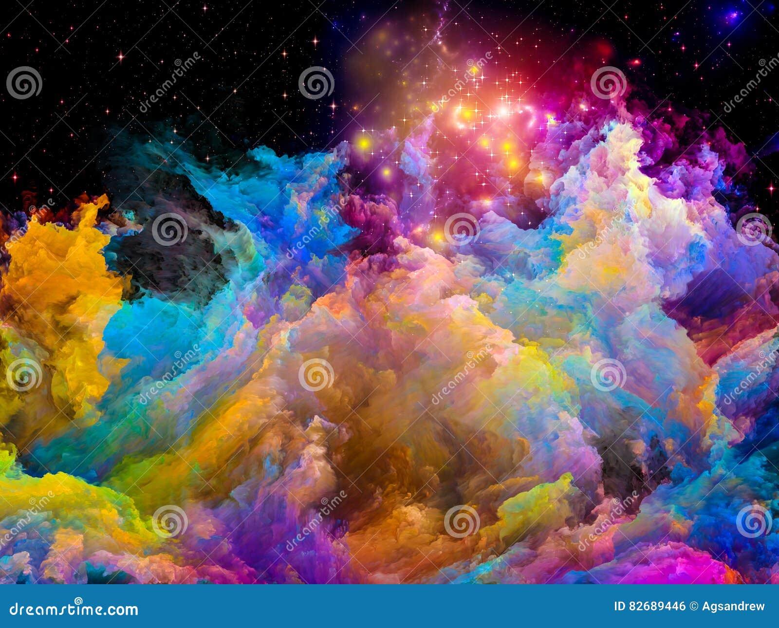 Aceleración del mundo pintado