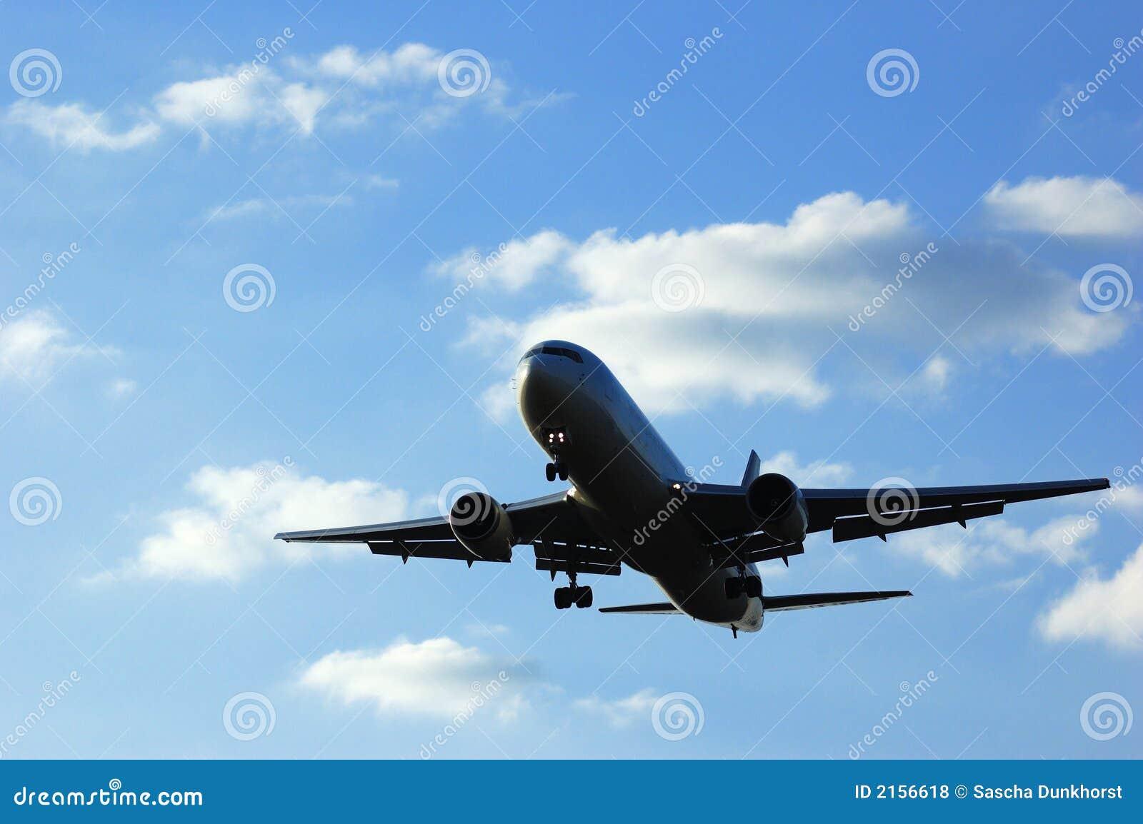Acercamiento del aeroplano