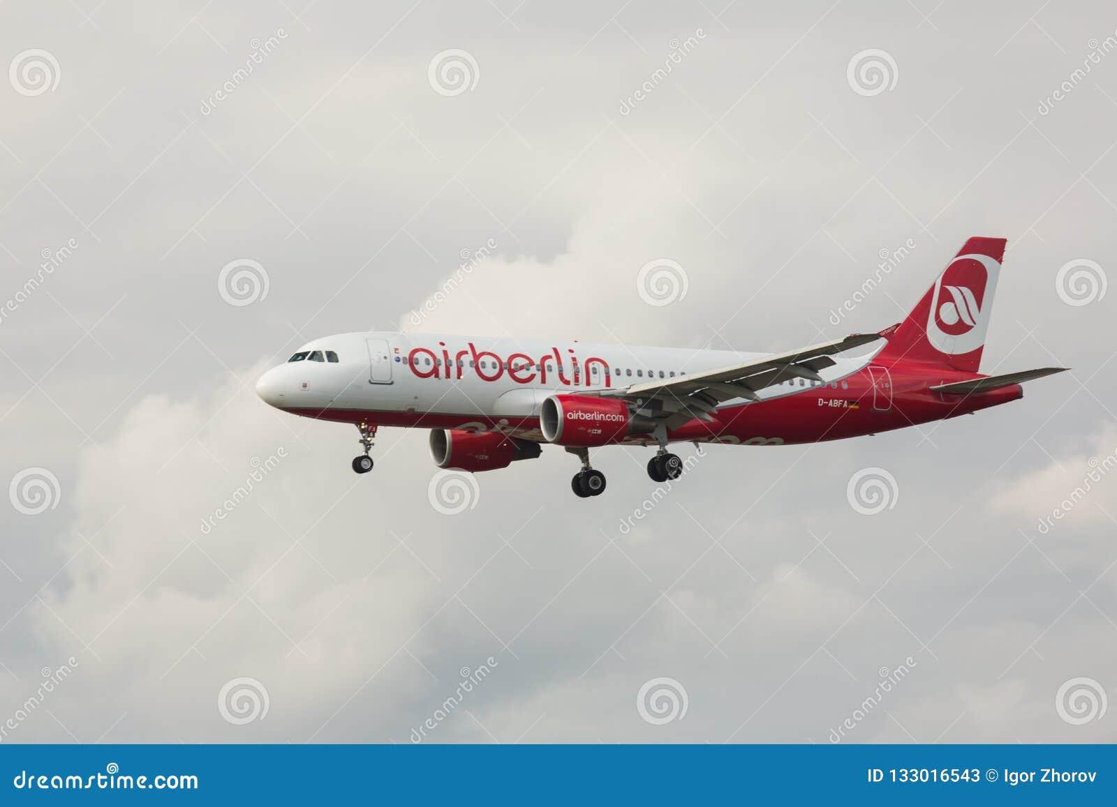 Acercamiento y aterrizaje de Airbas A320
