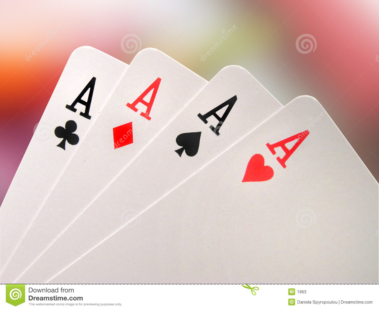 Download Aces stock image. Image of clubs, poker, betting, paper, chance - 1963