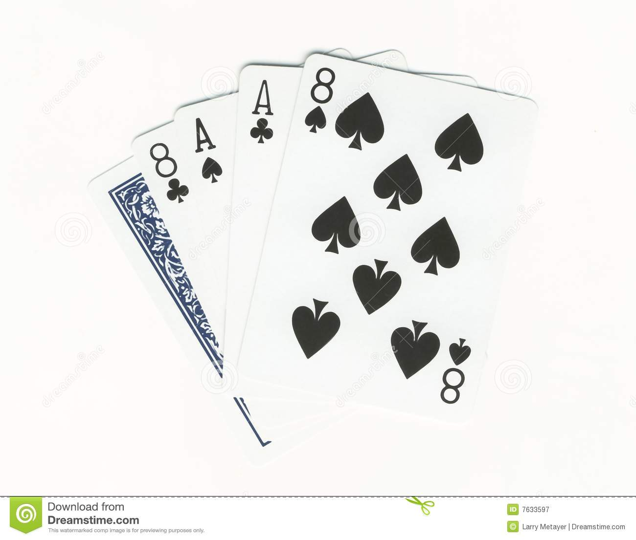 cards aces and eights