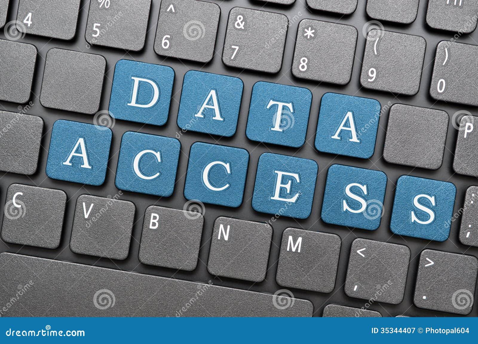 Acesso de dados