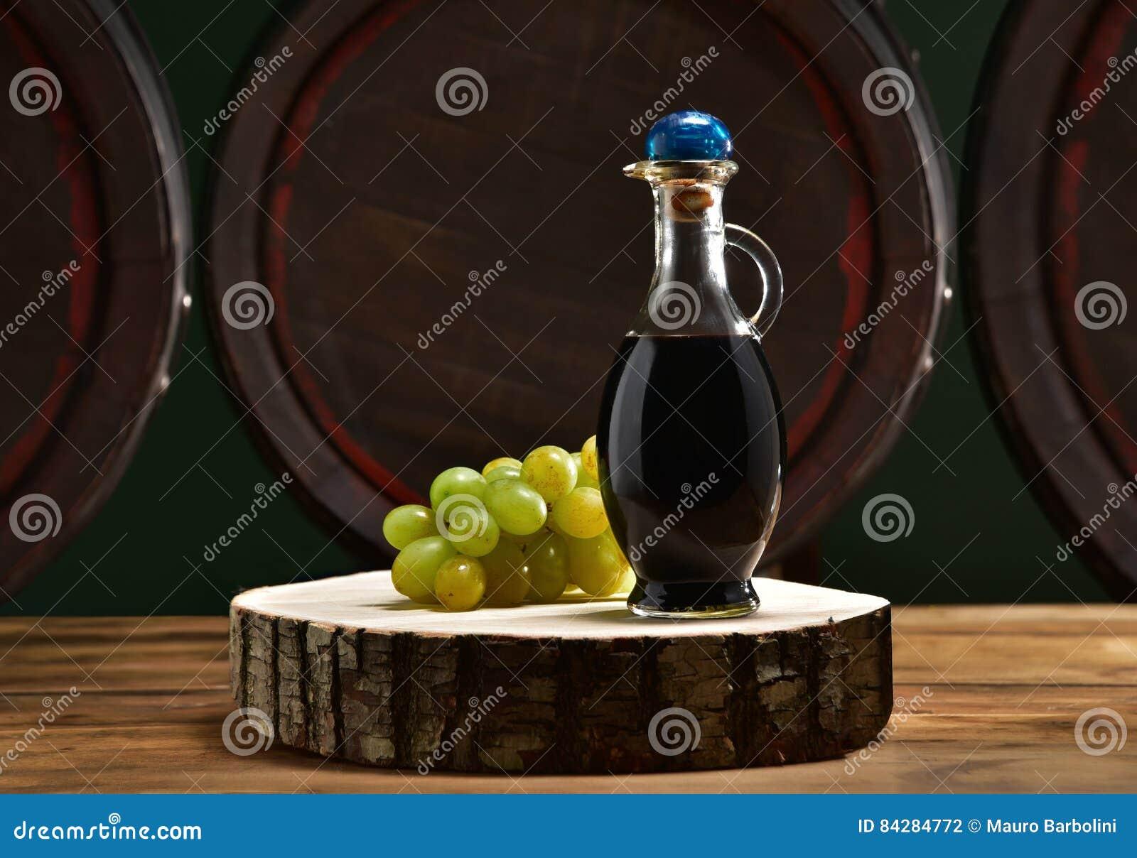 Aceto balsamico con botti stock photo  Image of modena