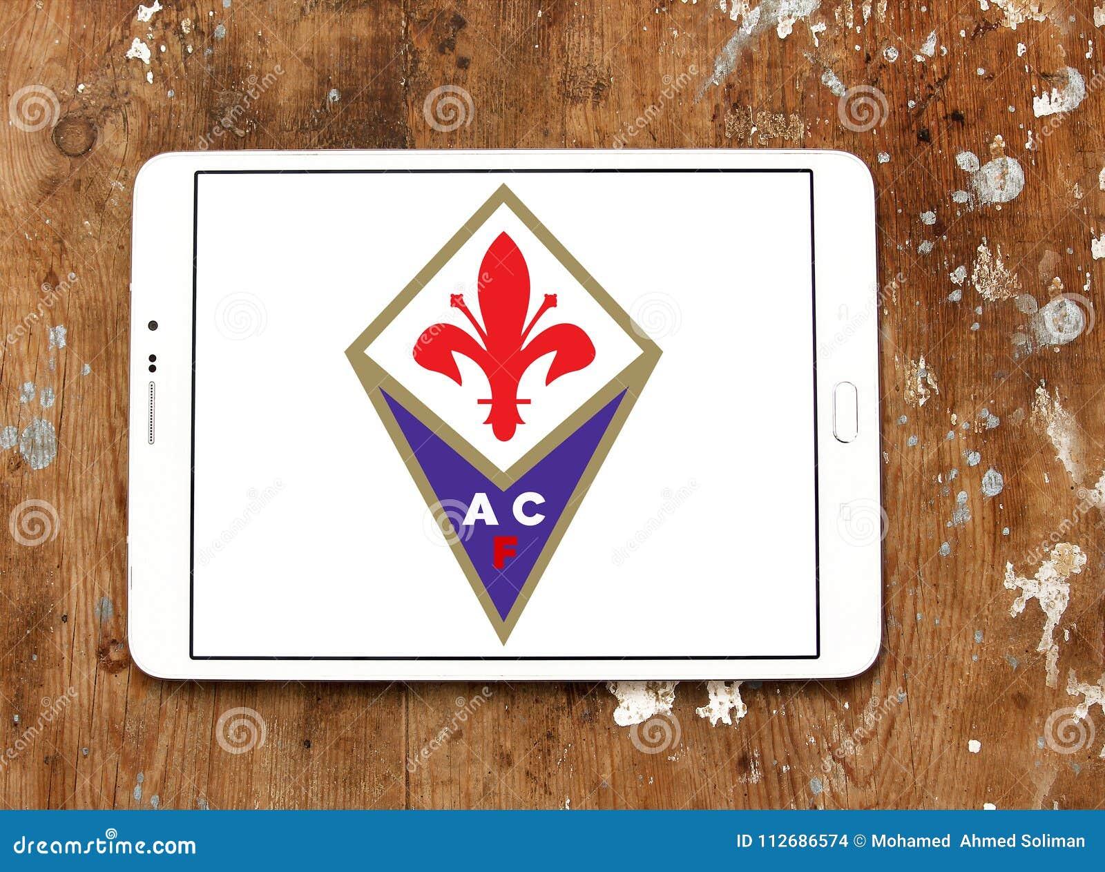 ACF Fiorentina Football Club Logo Editorial Stock Image