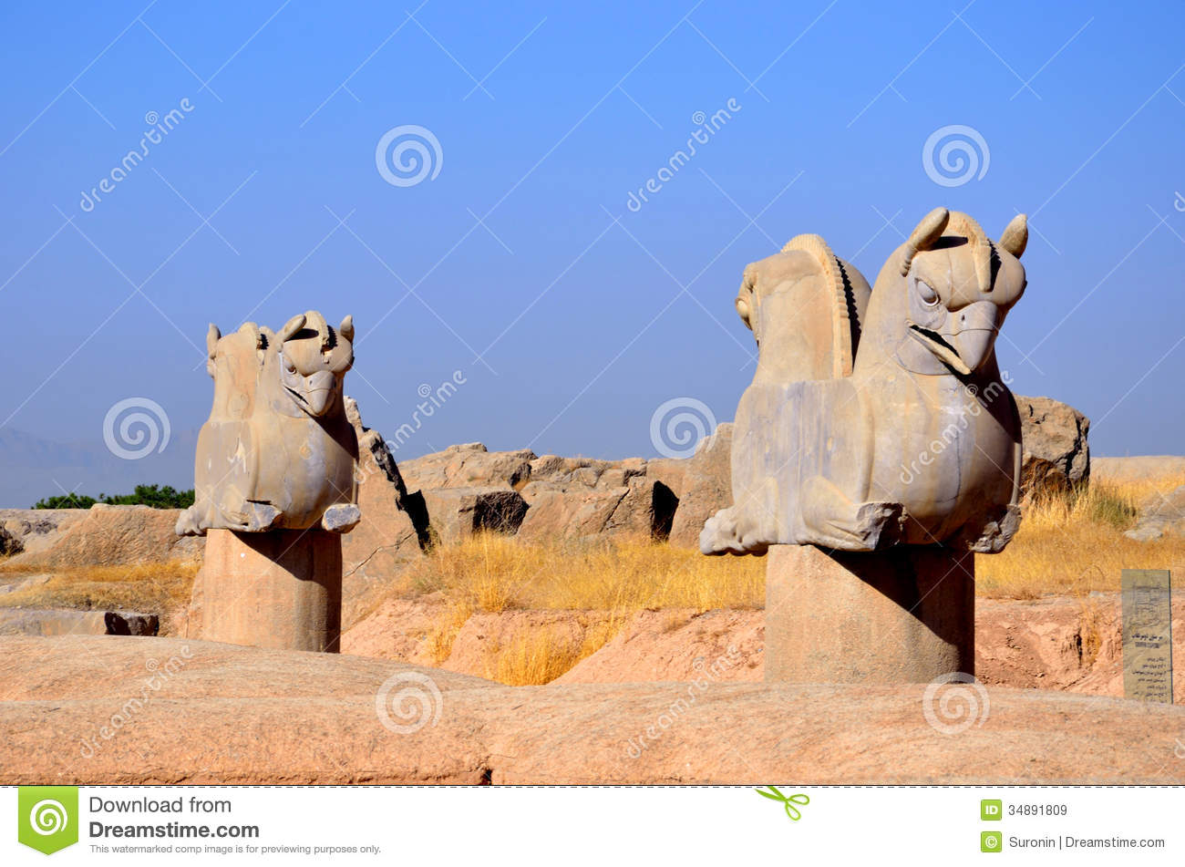 persepolis and western symbols The bull is also a symbol of power in ancient persia and is seen throughout persepolis on top of columns and guarding gates the magnificent palace complex at persepolis was founded by darius the great around 518 bc, although more than a century passed before it was finally completed.
