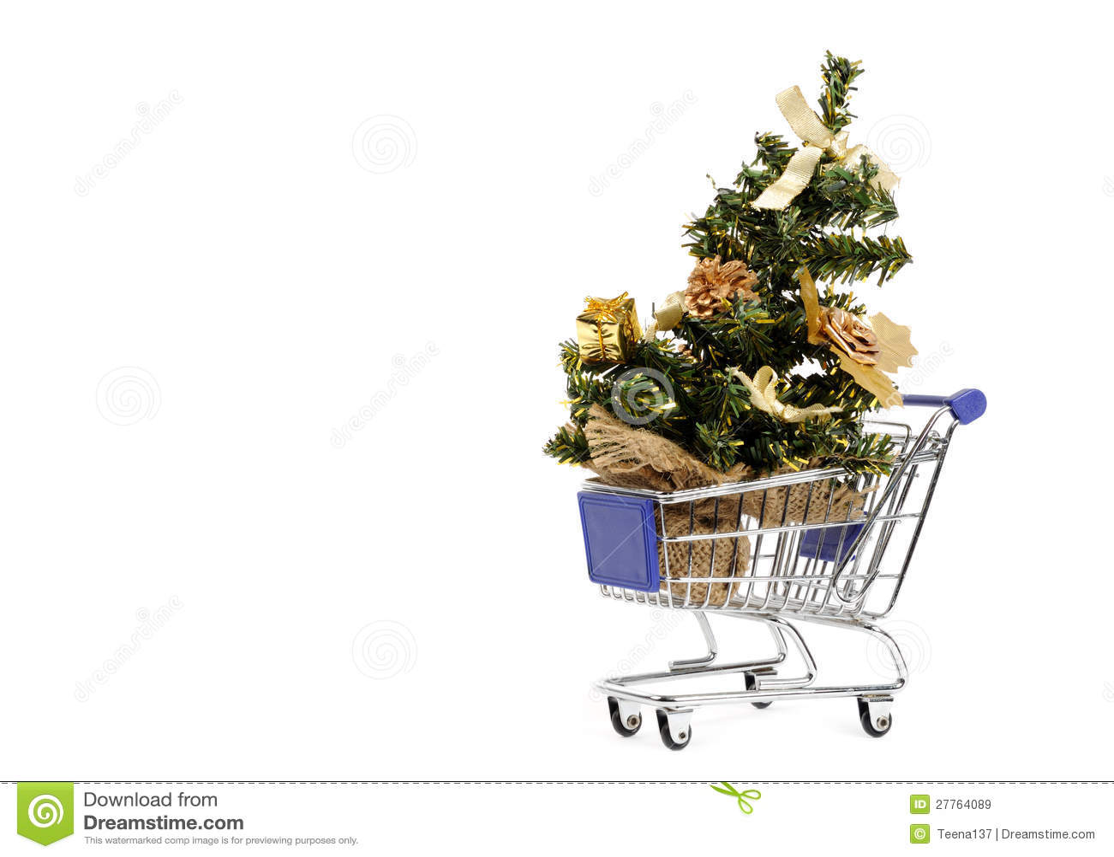 Achat pour l arbre de Noël