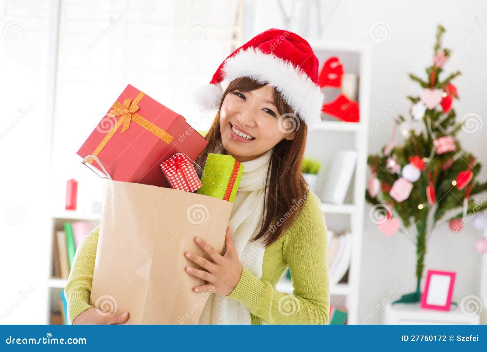 Achats de cadeau de Noël