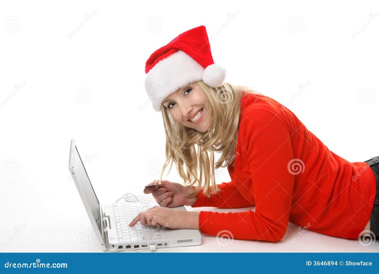 Achats de Noël en ligne