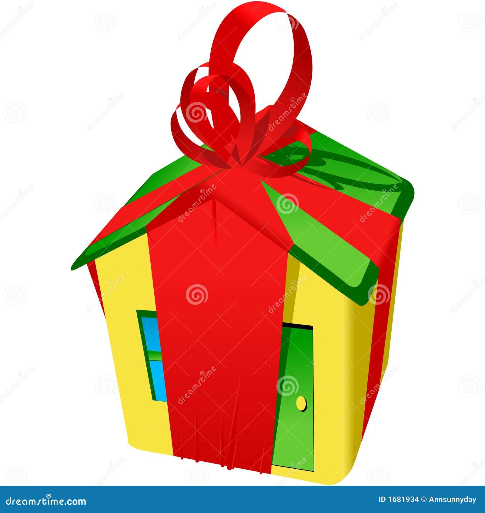 Achetez la nouvelle maison illustration de vecteur illustration du logement 1681934 - Idee cadeau nouvelle maison ...