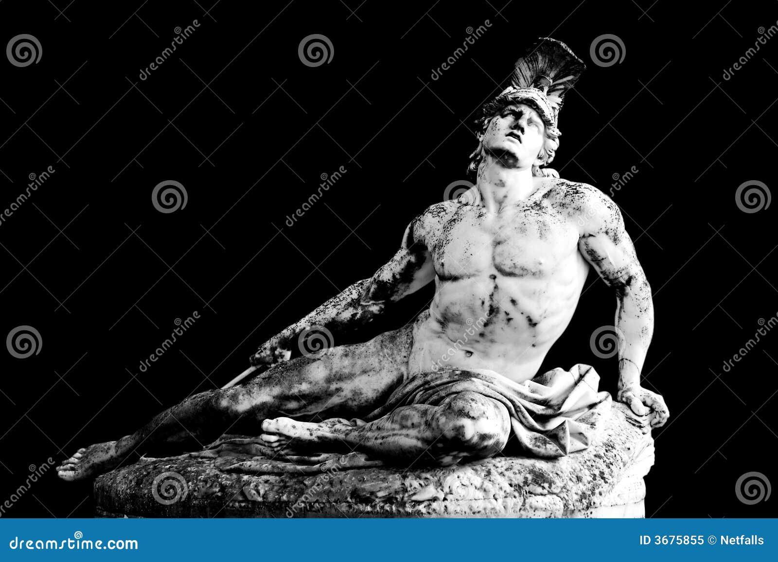 Download Achilles immagine stock. Immagine di statua, monumento - 3675855