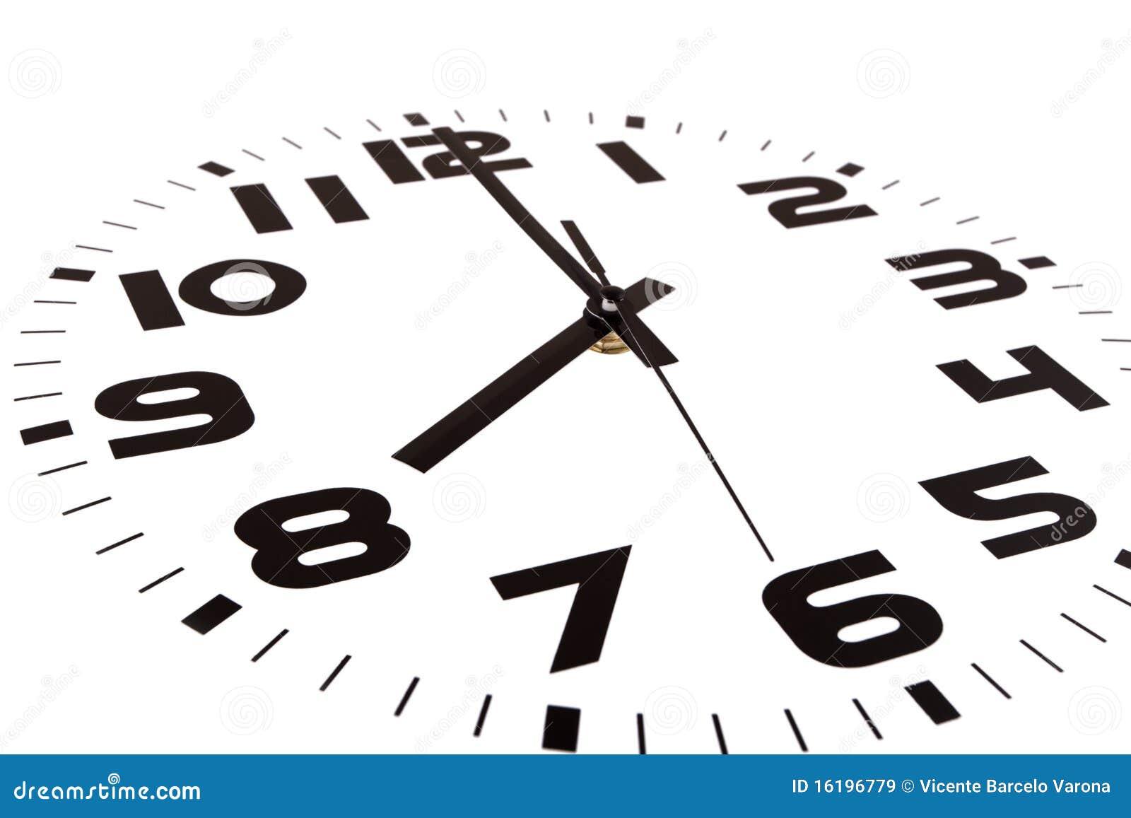 Acht Uhr