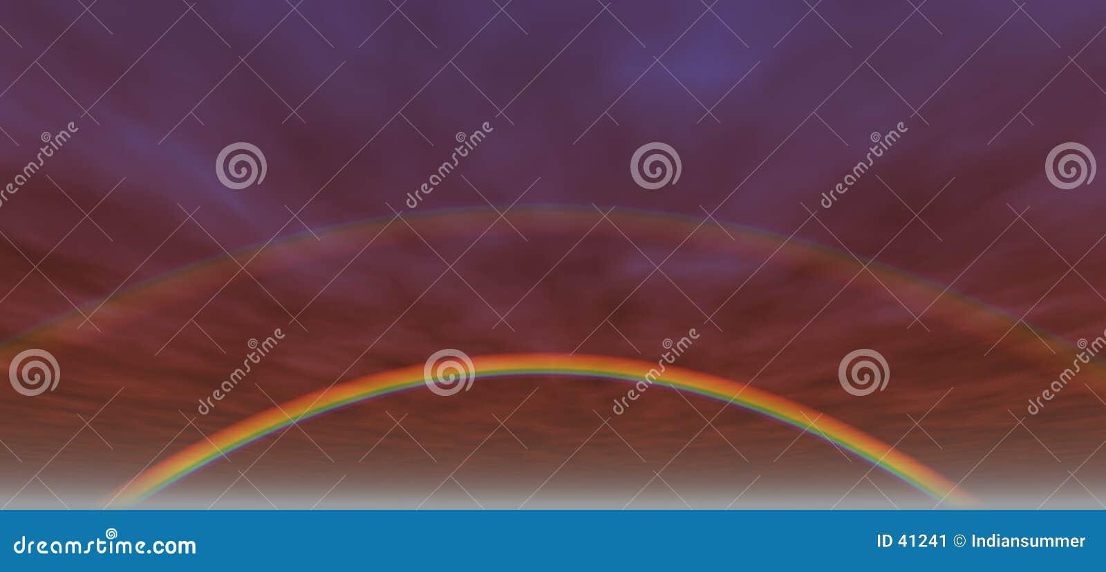 Achtergrond 3 van de regenboog
