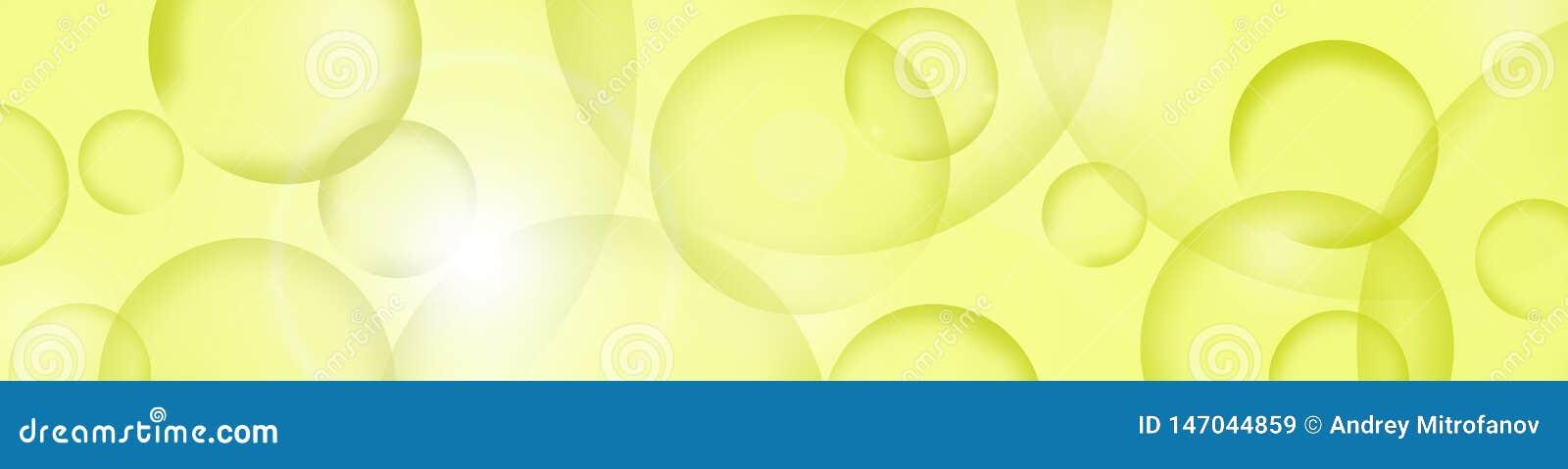 Achtergrond Abstractie met gekleurde cirkels