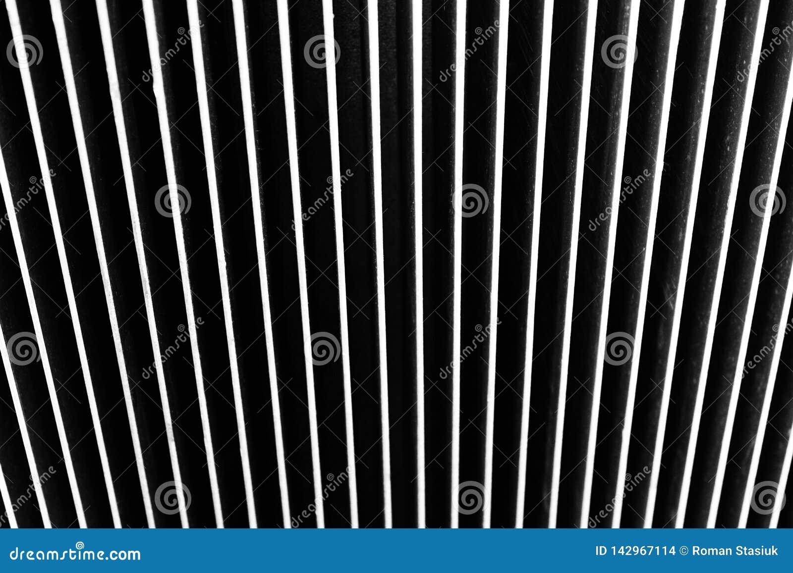 Achtergrond die van metaal wordt gemaakt Verticale strepen