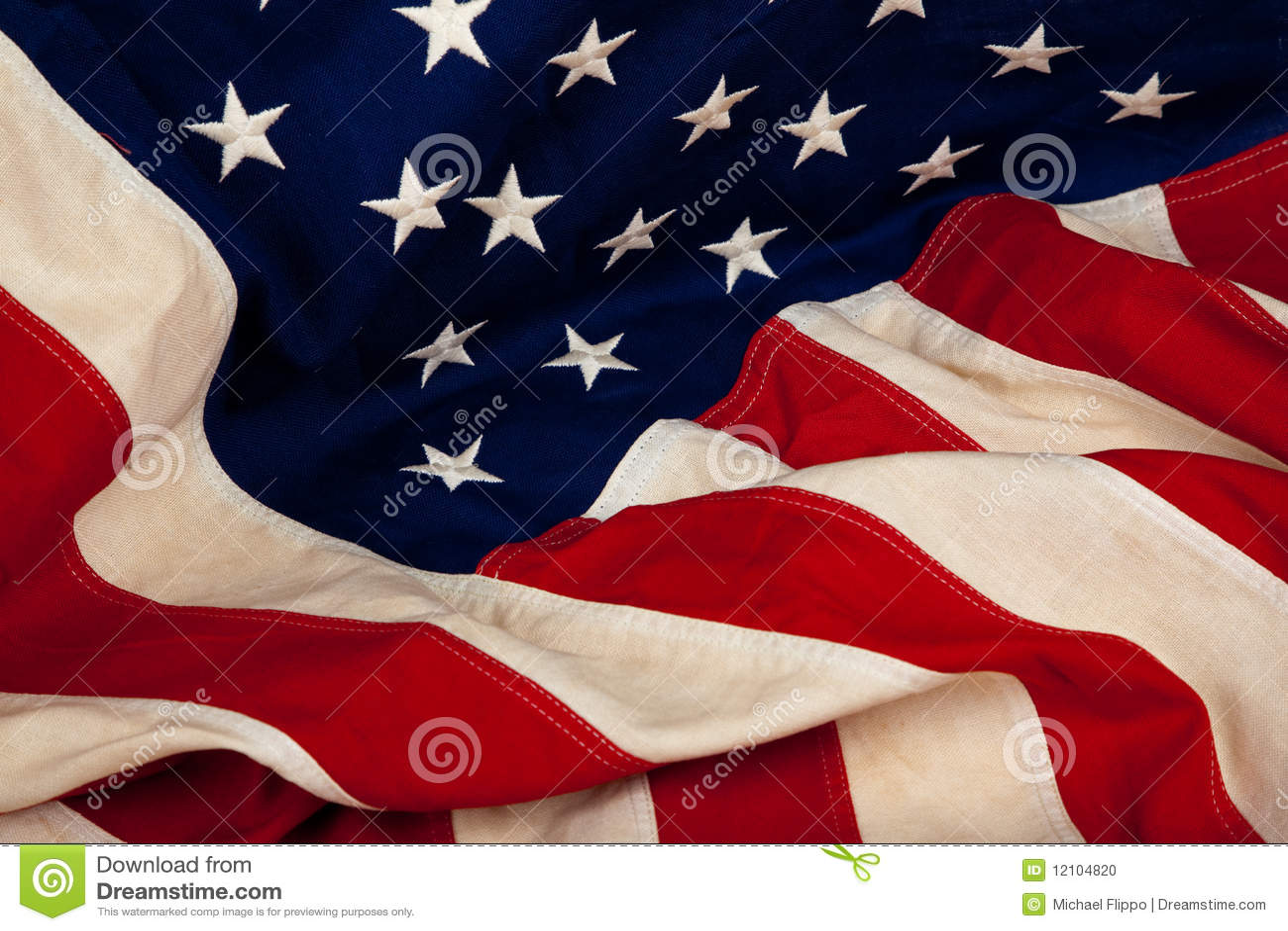 Achtergrond van de Amerikaanse vlag van Verenigde Staten