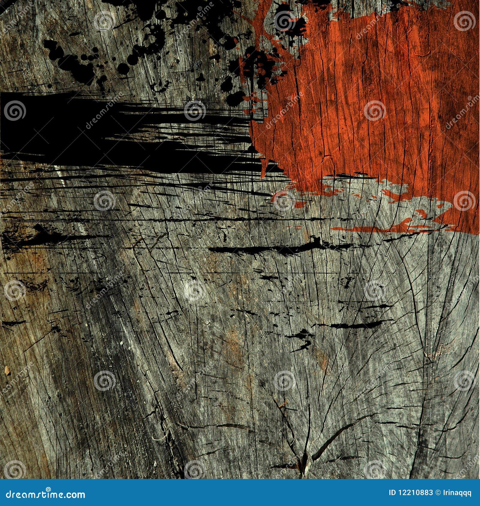 Achtergrond van de grungetextuur van de kunst de abstracte