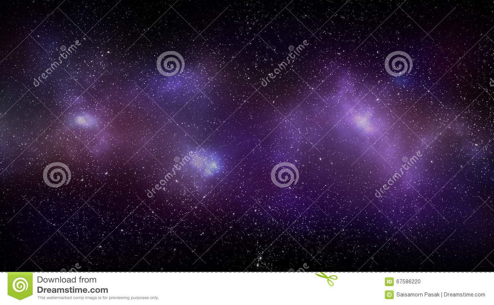 Achtergrond van de melkweg de ruimtenevel