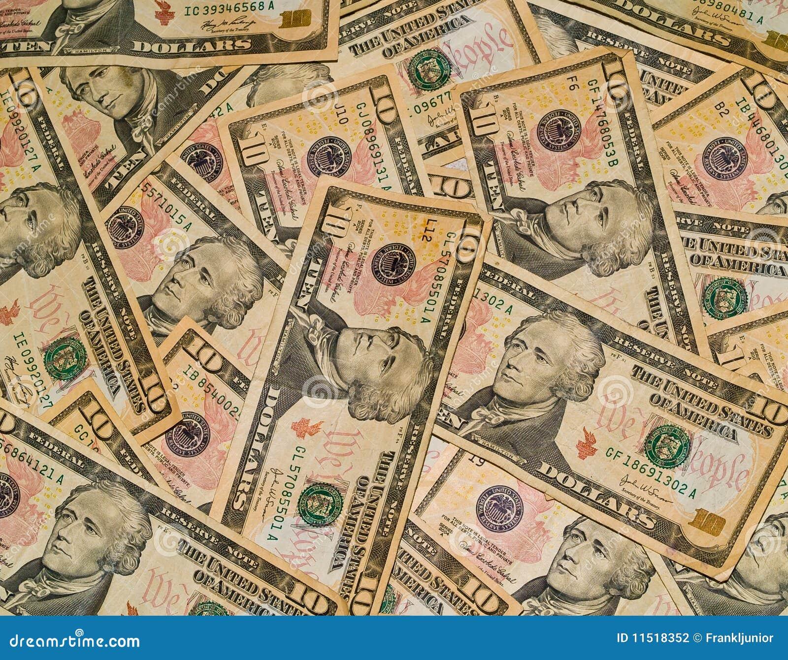 Achtergrond van de Rekeningen van de V.S. $10