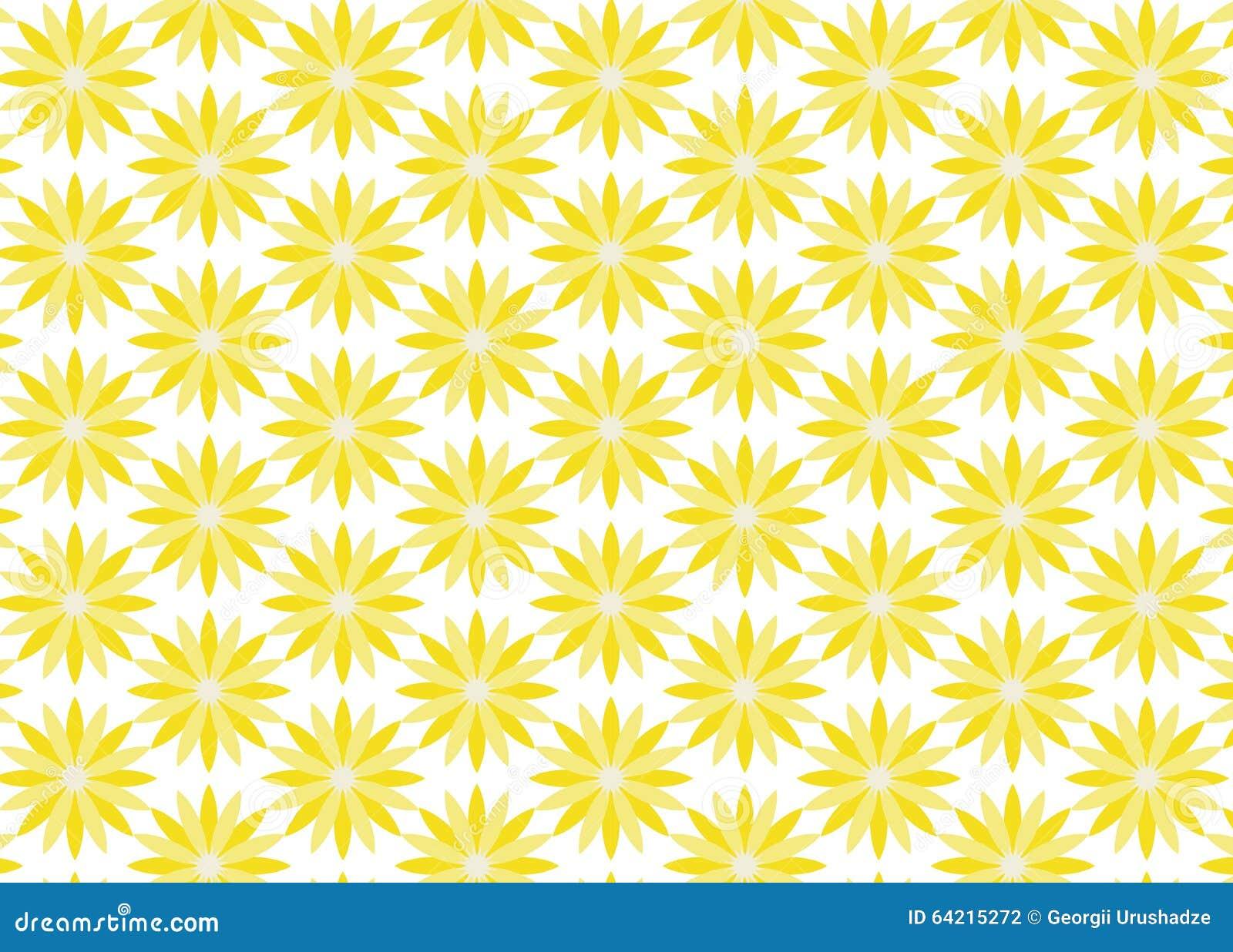 Achtergrond van gele bloemen