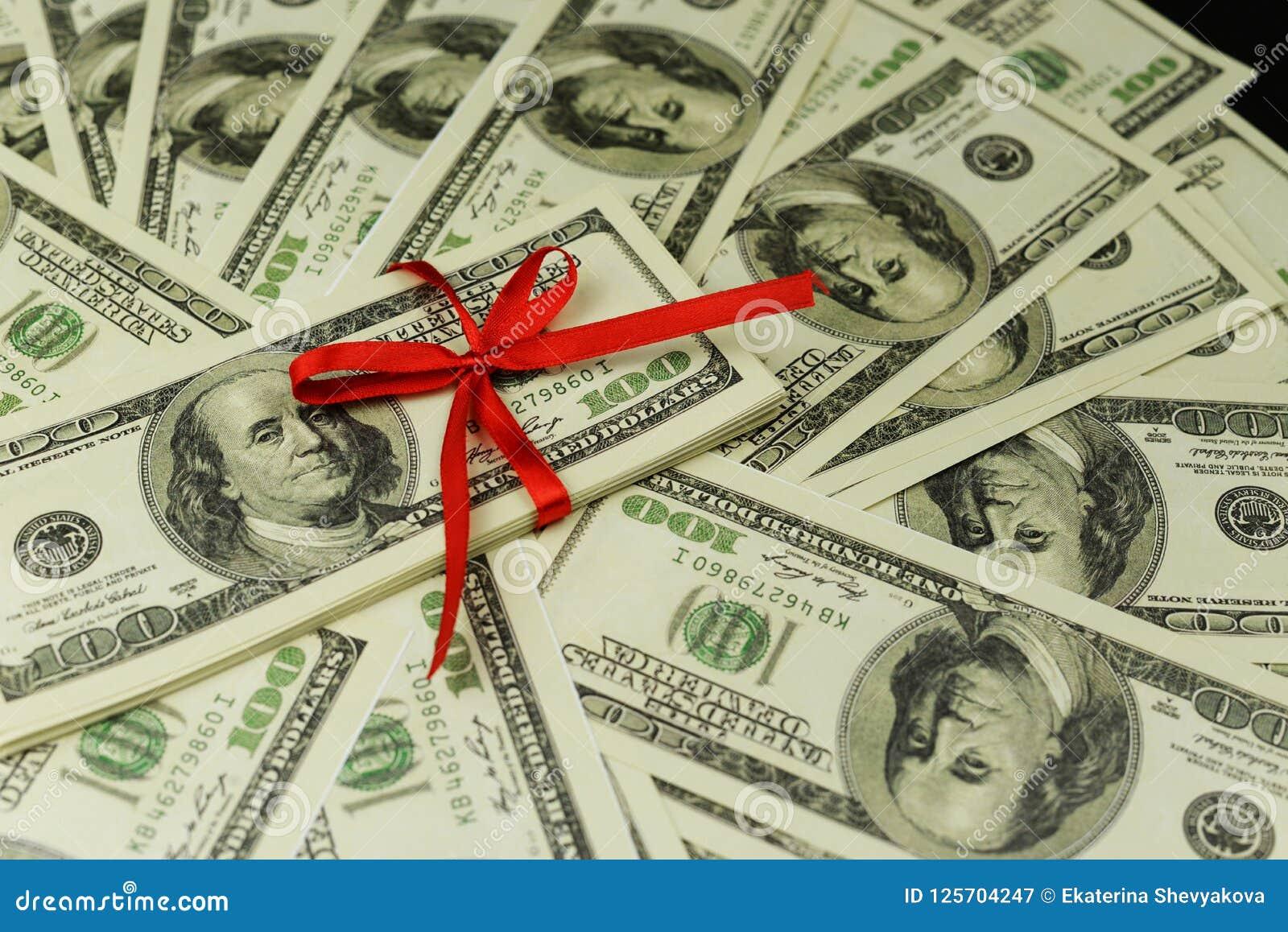Achtergrond van heel wat bankbiljetten van geldcontant geld