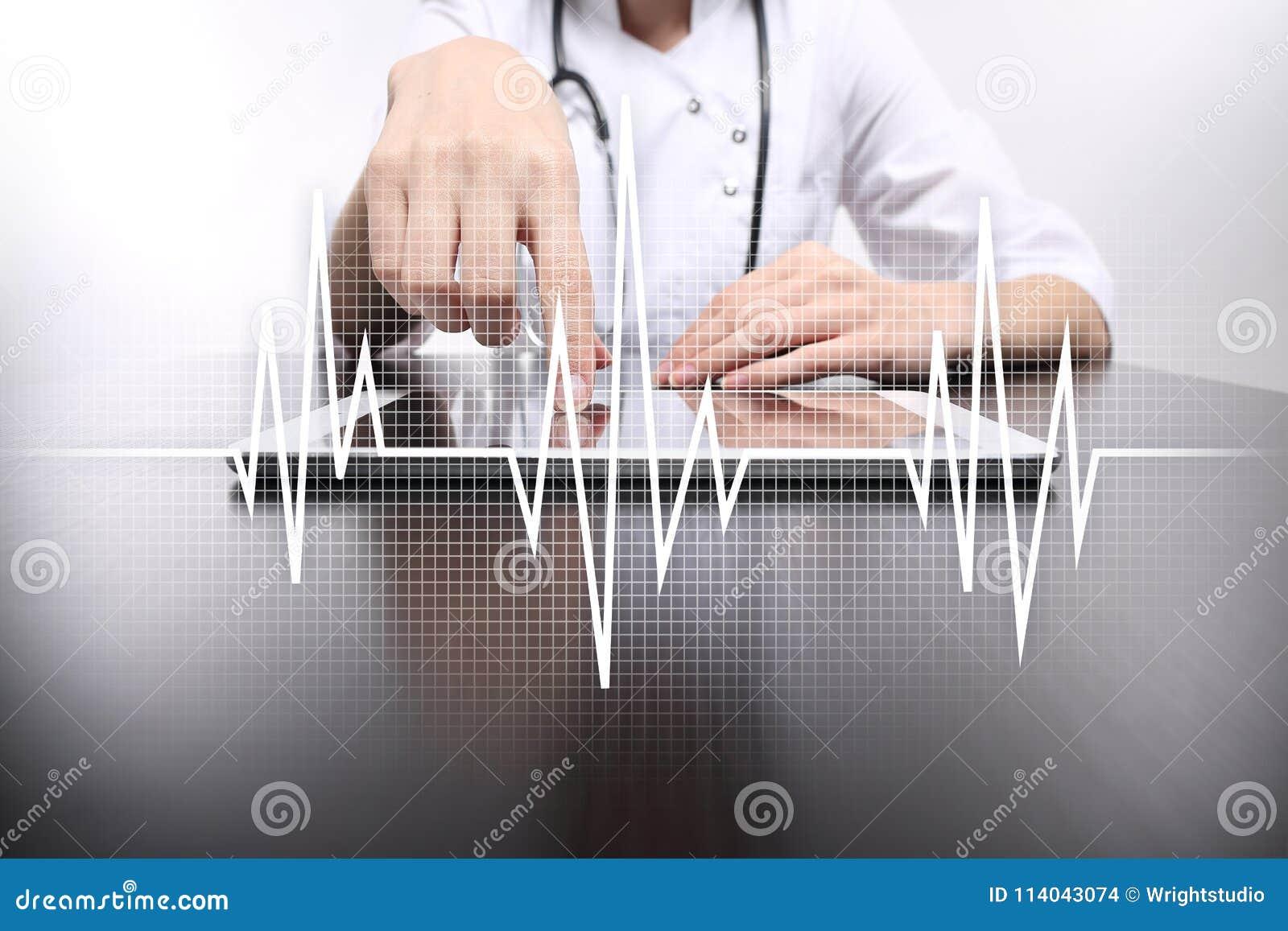 Achtergrond van het impuls de medische concept Geneeskunde en gezondheidszorg