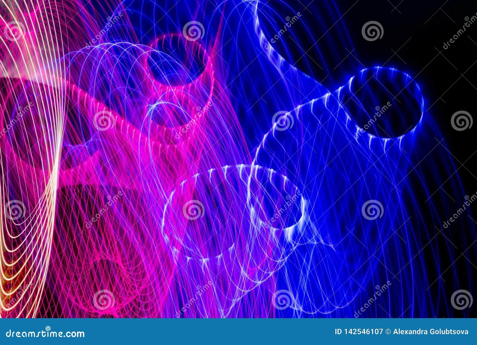 Achtergrond van kleuren de lichte absctract