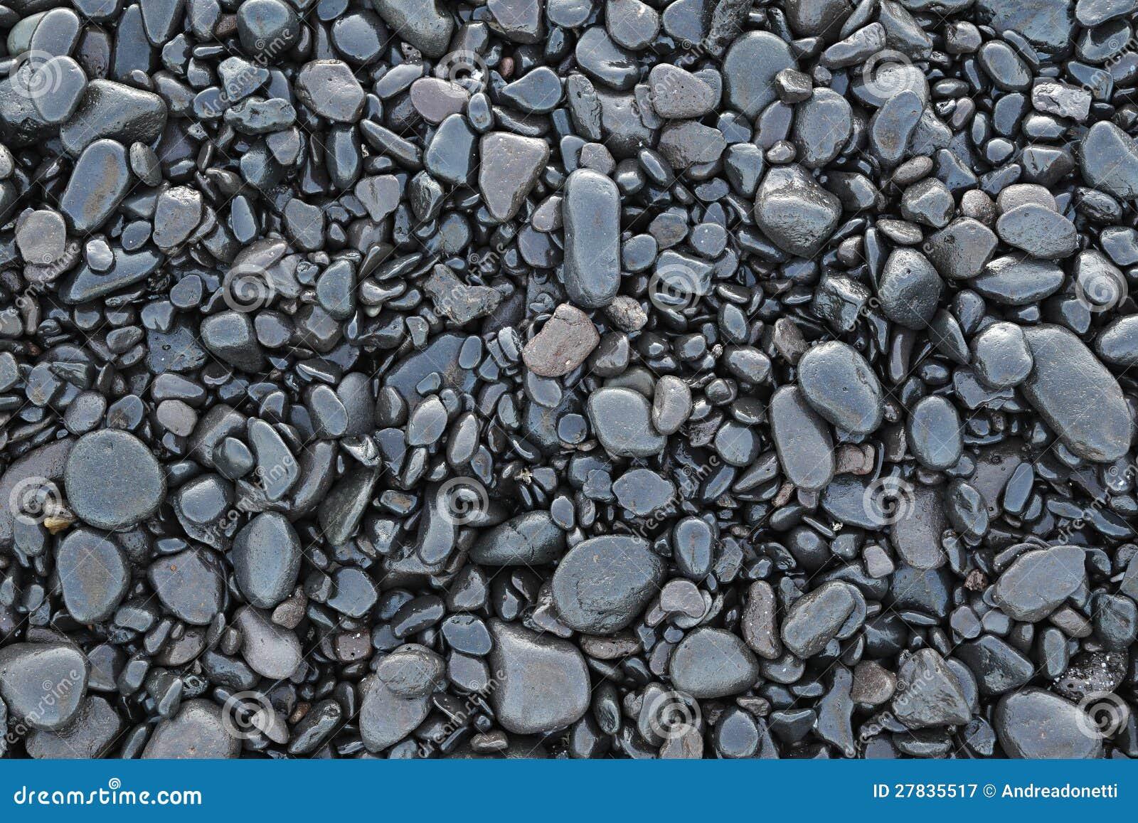achtergrond van natte zwarte kiezelstenen royalty vrije stock fotografie afbeelding 27835517