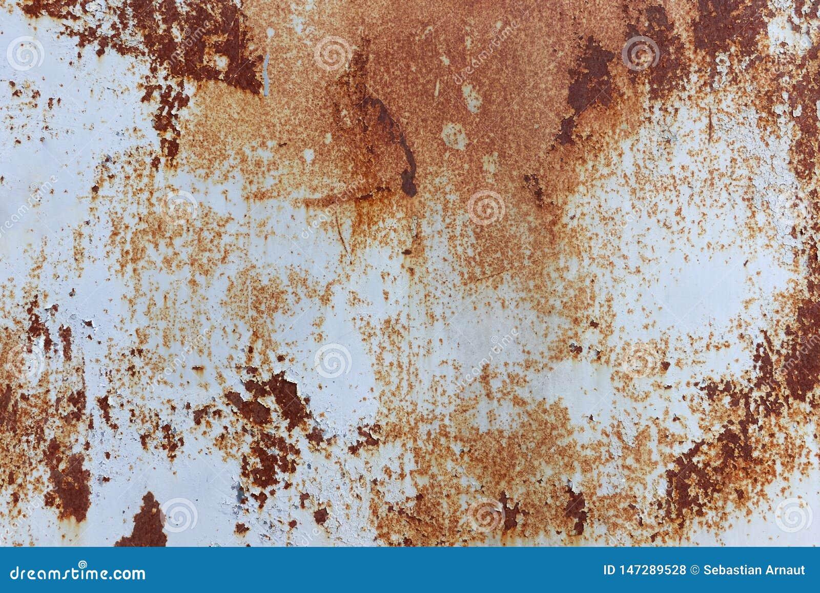 Achtergrond van roestige metaaltextuur
