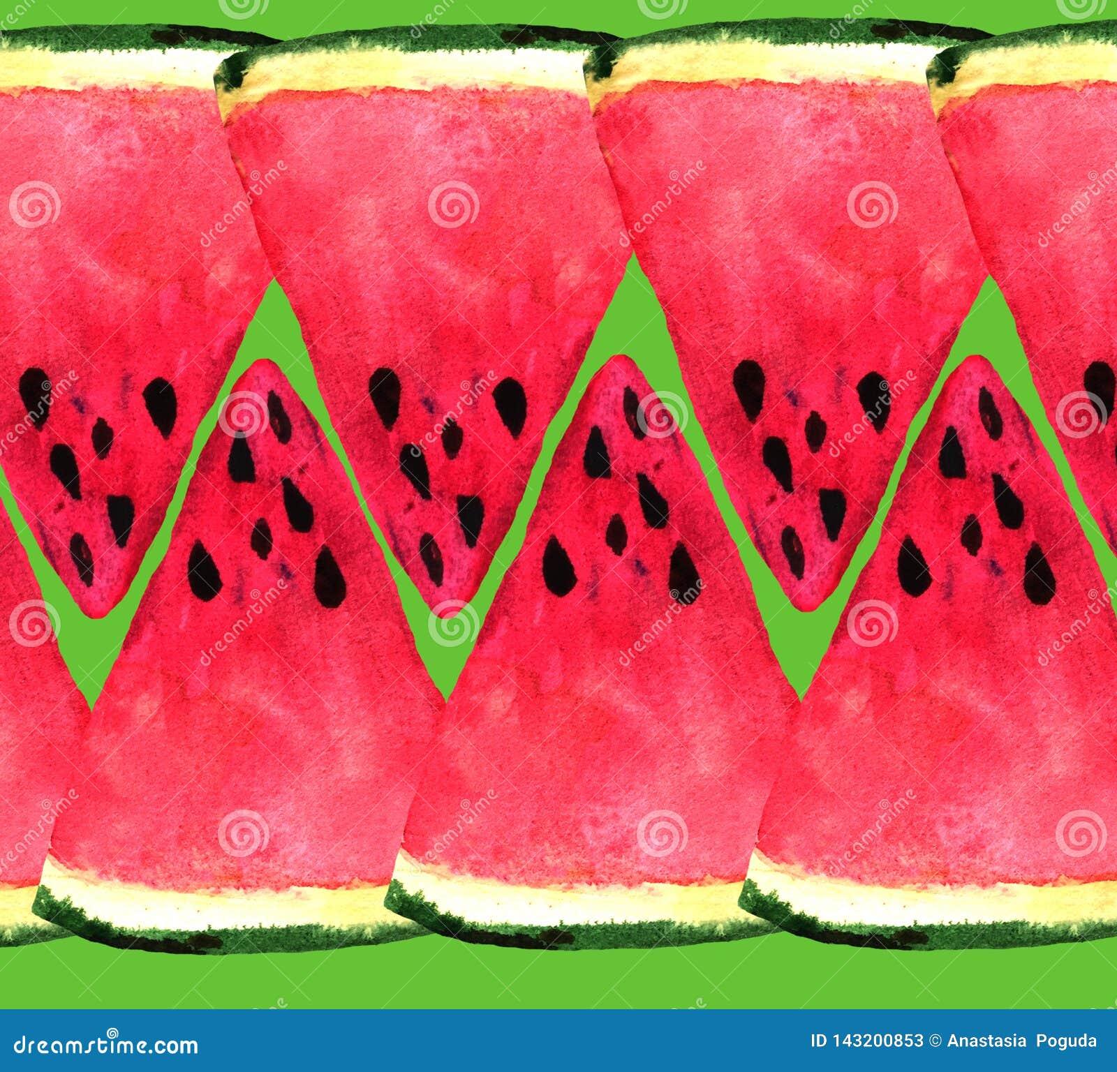 Achtergrond van verse watermeloenplakken