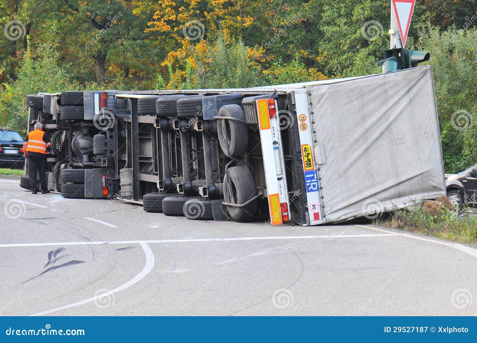 Acidente do caminhão