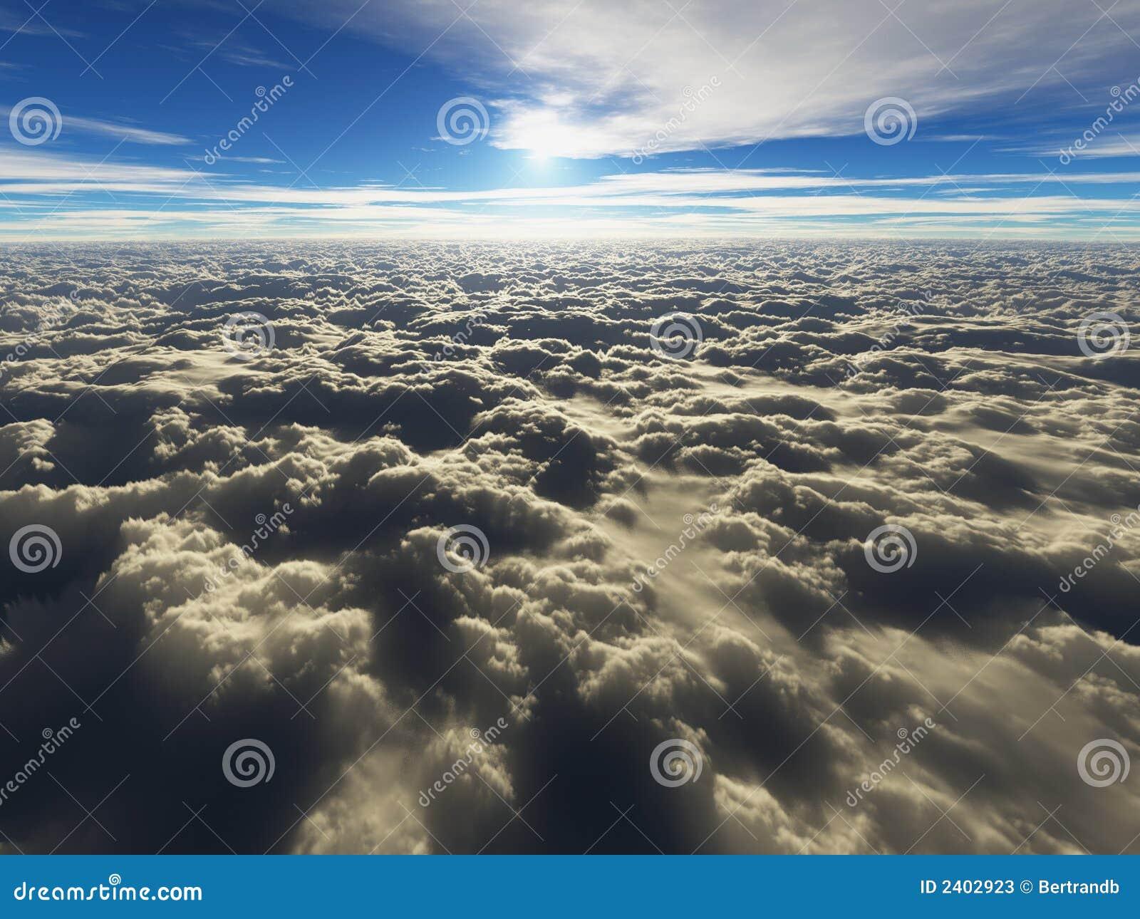 Acima das nuvens - cloudscape
