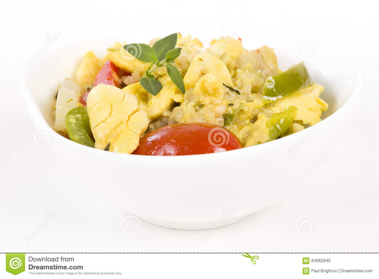 Ackee saltfish stock photo image 64062940 for Ackee bamboo jamaican cuisine