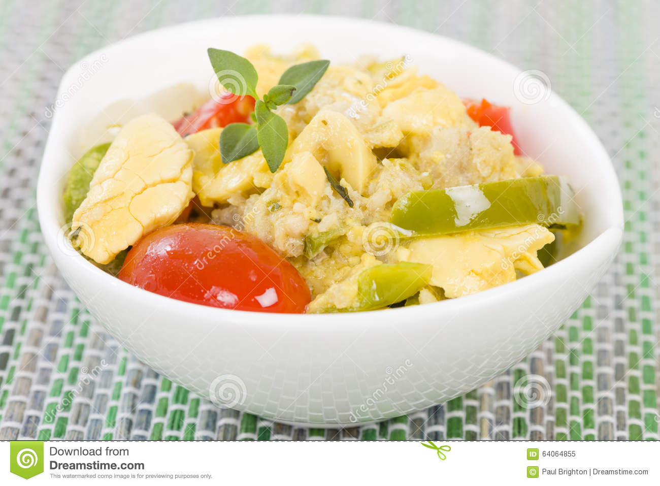 Ackee saltfish stock photo image 64064855 for Ackee bamboo jamaican cuisine