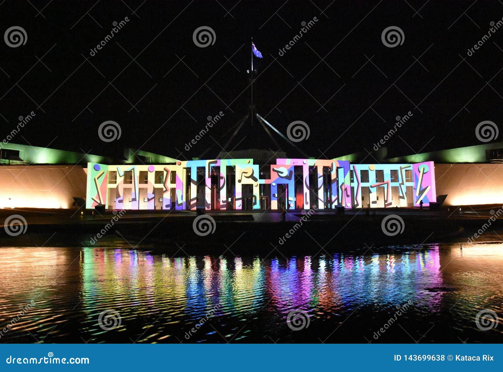 Aclare el festival en Canberra