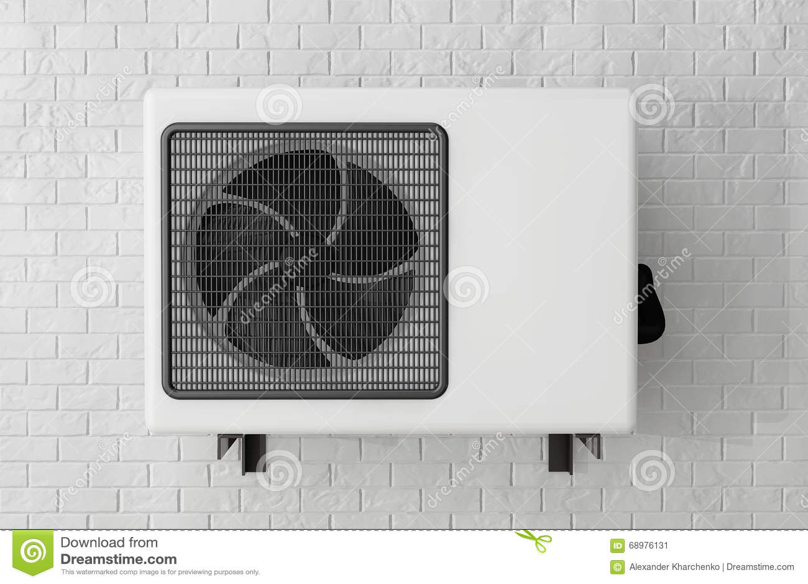 Acondicionador de aire moderno