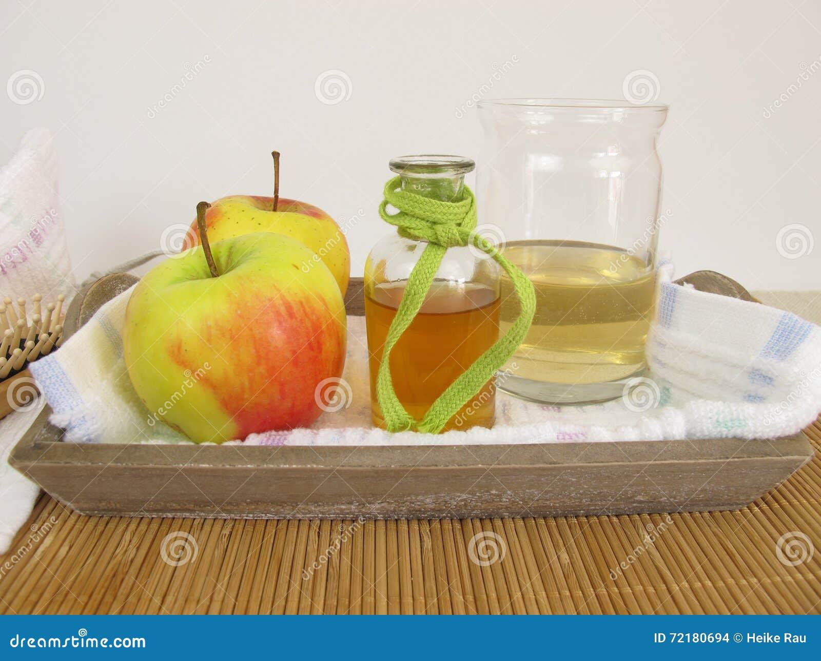 vinagre de manzana acondicionador