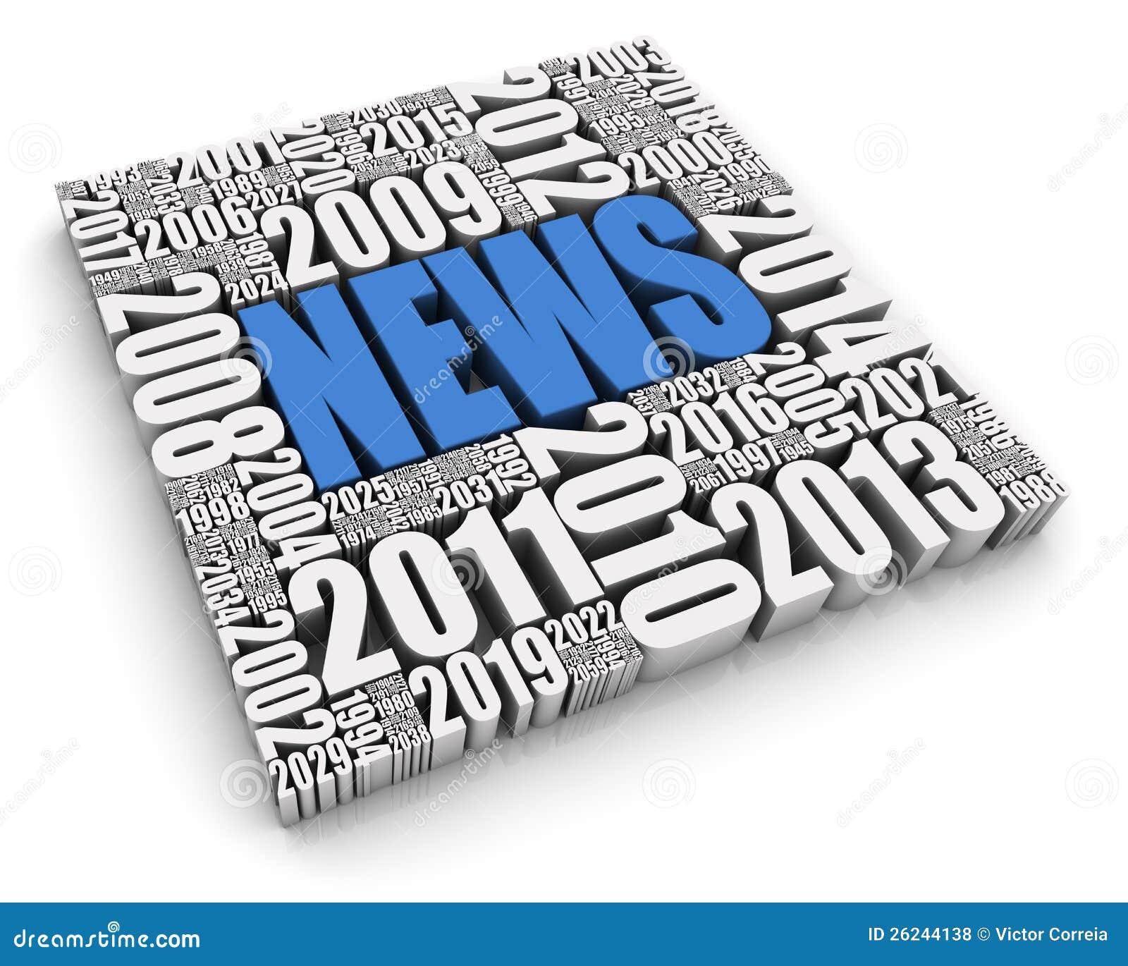 Acontecimientos de noticias anuales