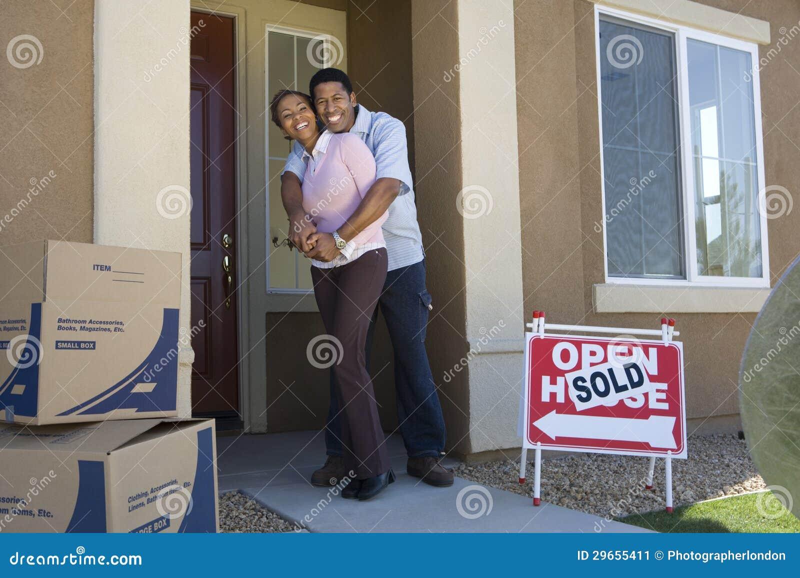 Acople mover-se na casa nova