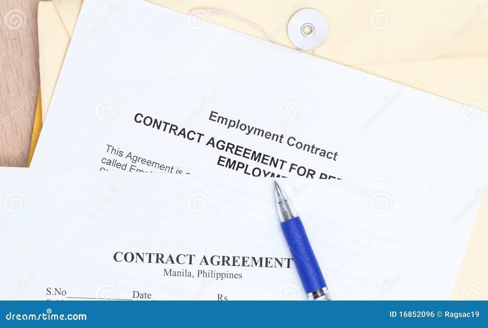 Acordo de contrato