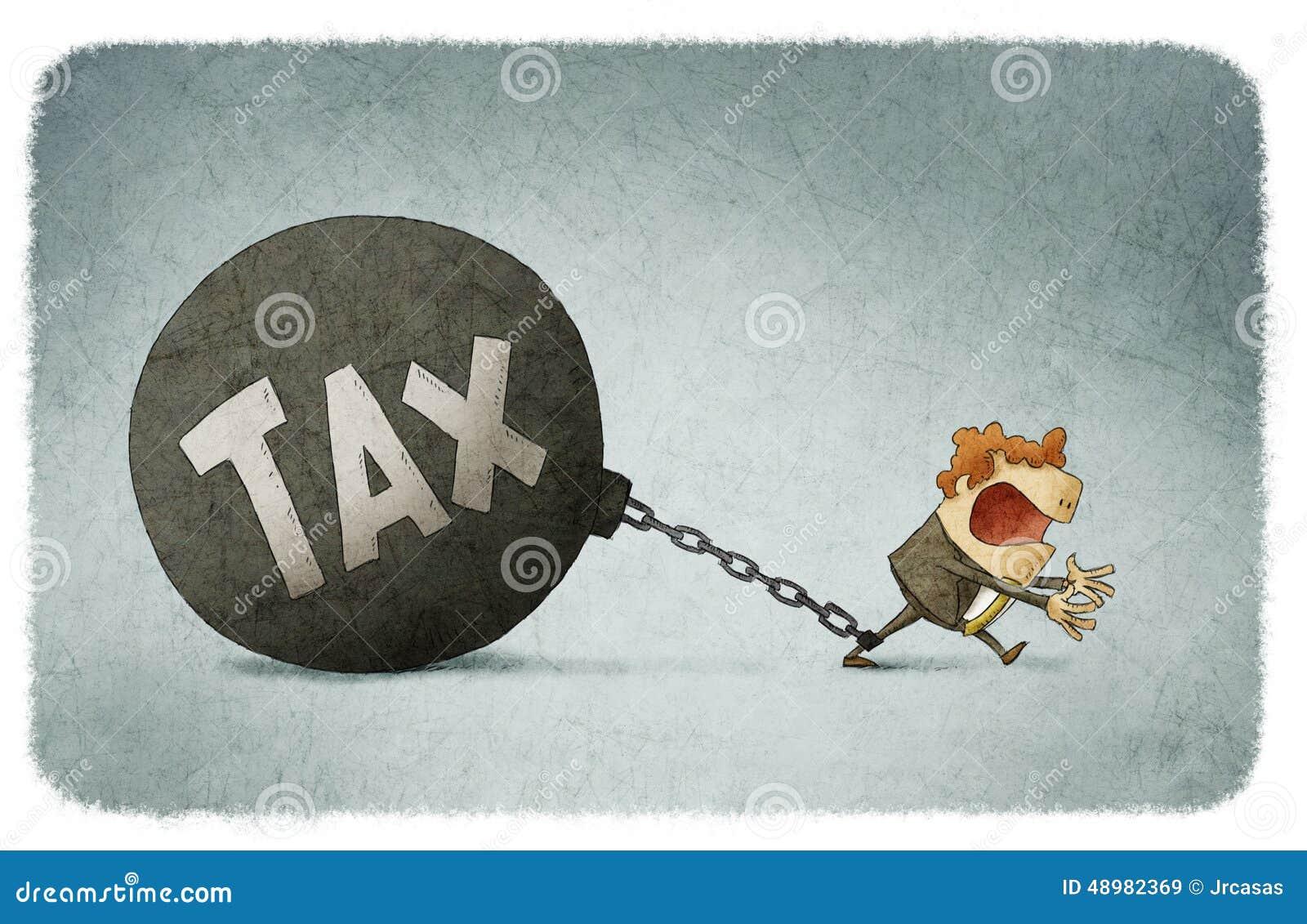 Acorrentado aos impostos