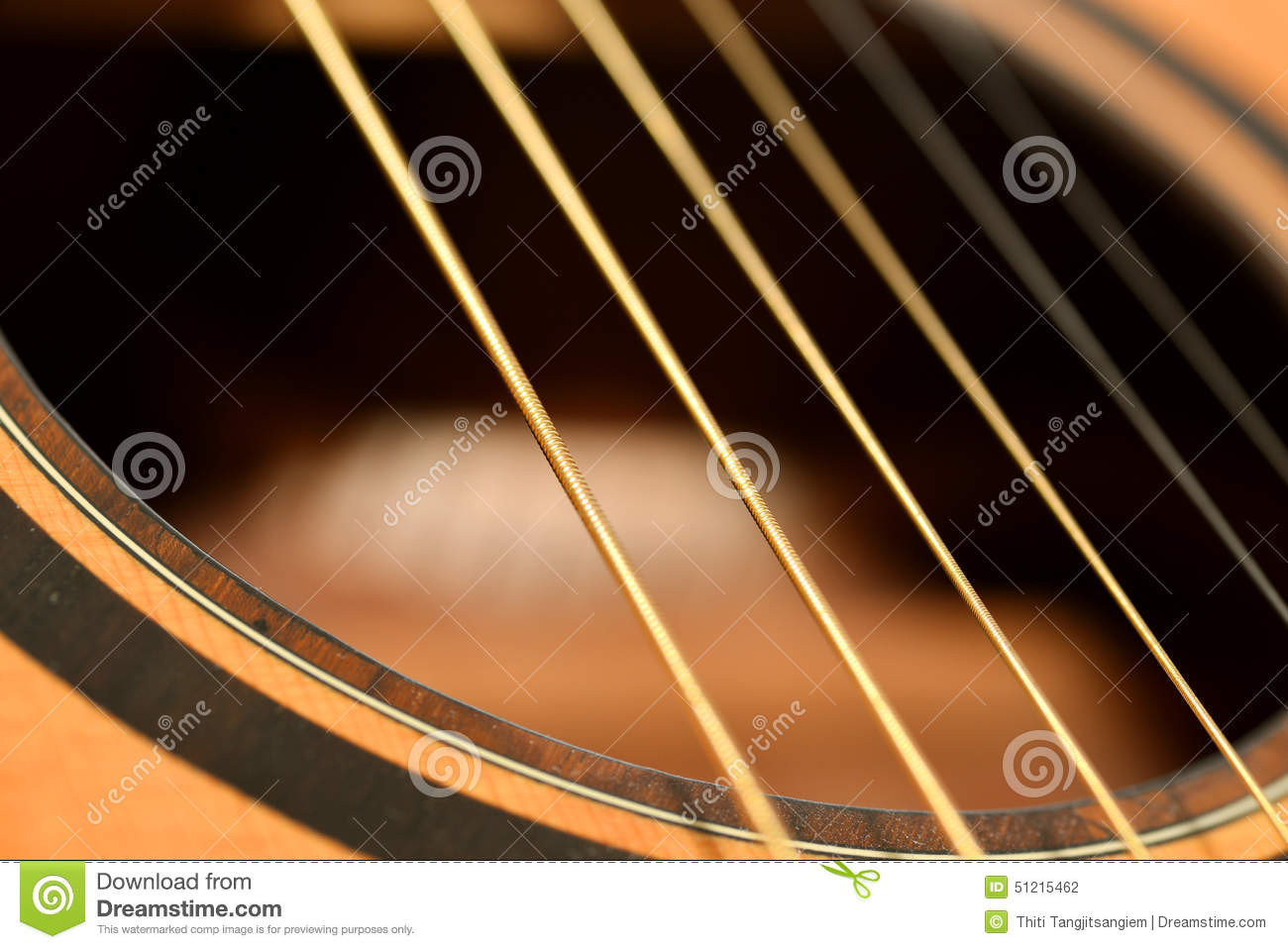 acoustic guitar sound hole stock photo image of leisure 51215462. Black Bedroom Furniture Sets. Home Design Ideas