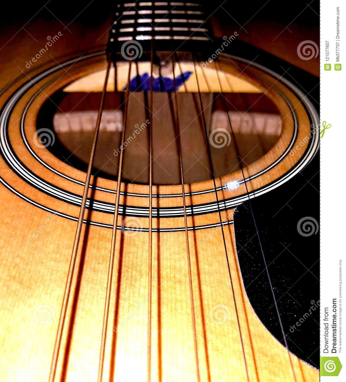 Acoustic Guitar Wallpaper Full Hd Image Stock Image Image Of